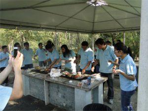 ഗുഗുൺ പാർക്കിൽ BBQ, ശരത്കാല 2014
